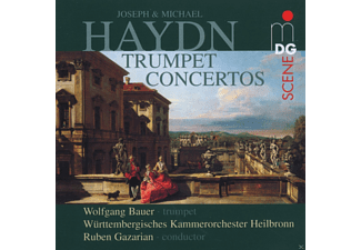 Wolfgang Bauer, Württembergisches Kammerorchester (heilbronn) - Trumpet Concertos  - (CD)