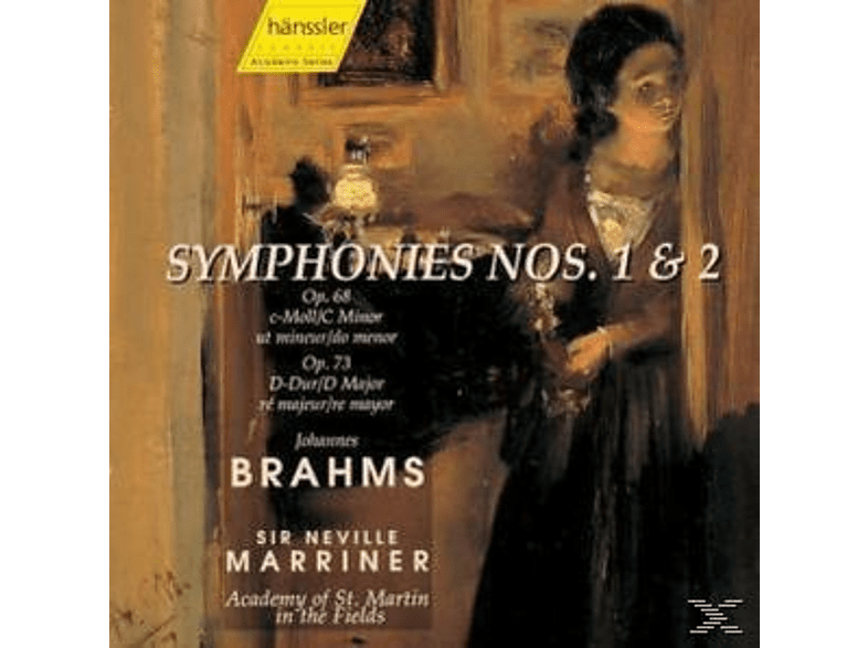 Academy of St. Martin in the Fields - Brahms: Symphonies Nos. 1 & 2 [CD]