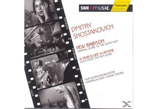 SWR RFO KAISERSLAUTERN/STROBEL/ADOMEIT - Das Neue Babylon  - (CD)