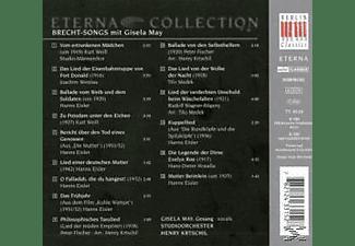H. Krtschil, May,Gisela/Krtschil,H./Studioorchester - Brecht-Songs Mit Gisela May  - (CD)