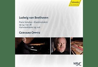 Gerhard Oppitz - KLAVIERSONATEN 22+24+29  - (CD)