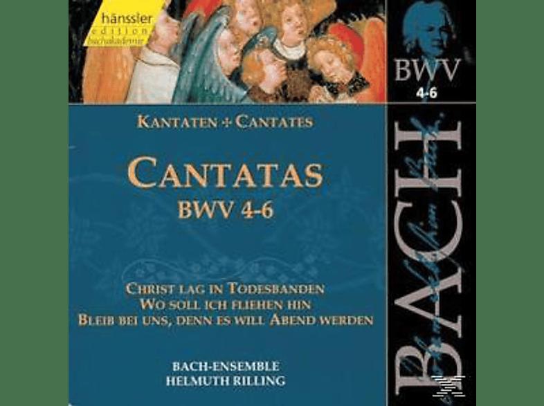 Bach Ensemble - KANTATEN BWV 04-06 [CD]