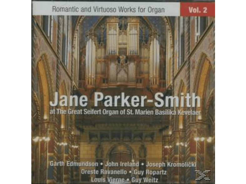 Jane Parker-smith - Romantic Works For Organ Vol.2 [CD]
