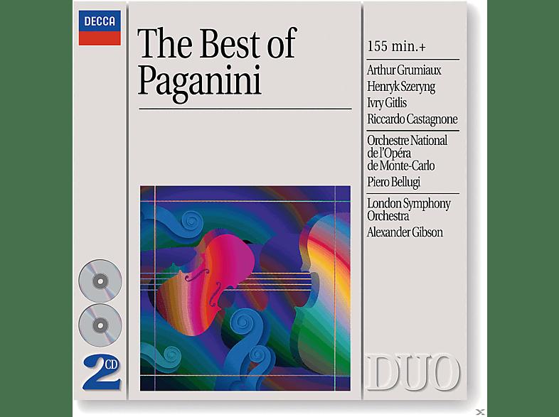 Arthur Grumiaux, Ivry Gitlis, London Symphony Orchestra - Best Of Paganini [CD]