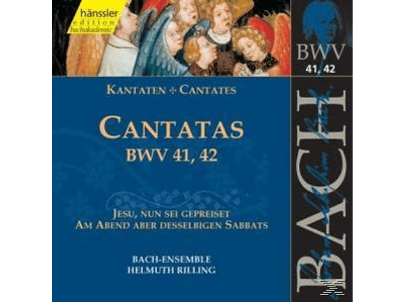 Helmuth/bach-ensemble Rilling - KANTATEN BWV 41,42 [CD]