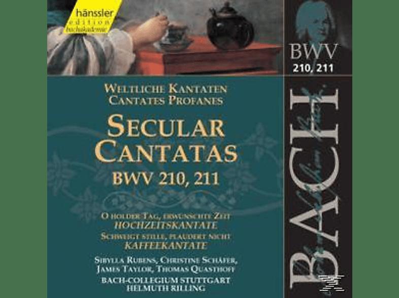VARIOUS - Weltliche Kantaten BWV 210+211 [CD]