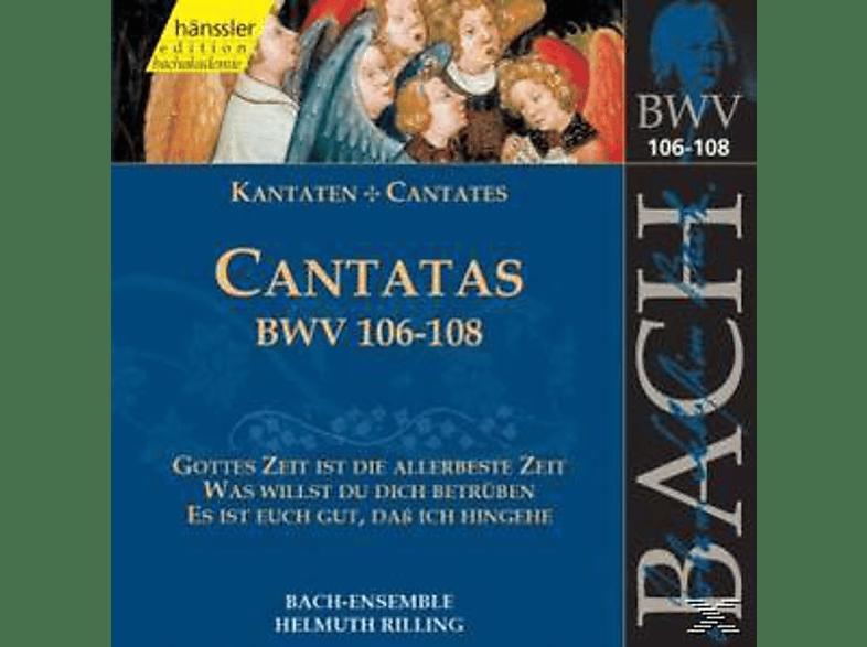 Das Bach-Assemble - Kantaten BWV 106-108 [CD]