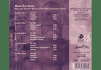 Mario Kay Ocker - Salzburger Sonaten  - (CD)