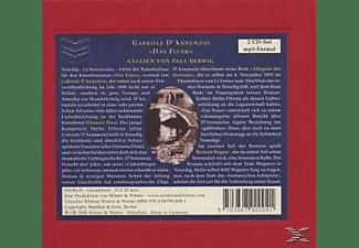 Paul Herwig - D'Annunzio,G.:Das Feuer  - (CD)