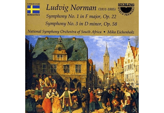 National Symphony Orchestra Of South Africa - Norman: Symphony No.1 & 3 - (CD)