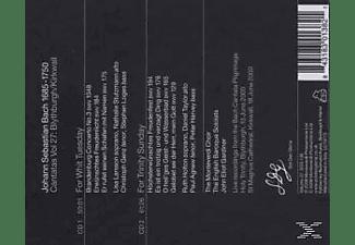 Monteverdi Choir, MONTEVERDI CHOIR/GARDINER - Kantaten 27: BWV 1048/184/175/194/176/+  - (CD)