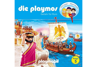 - Die Playmos 05: Gefahr für Rom  - (CD)