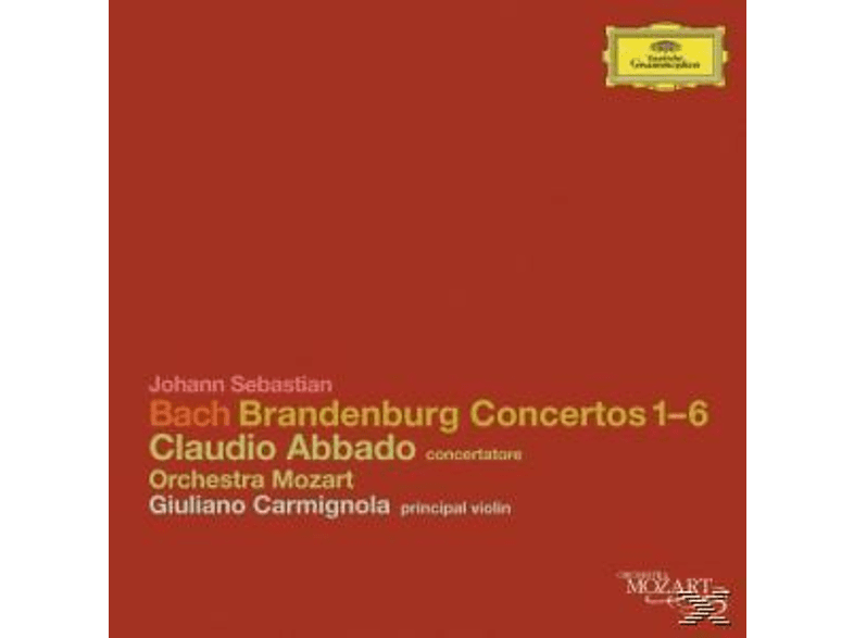 Claudio Abbado, Orchestra Mozart, Claudio/orchestra Mozart Abbado - Brandenburg Concertos 1-6 [CD]