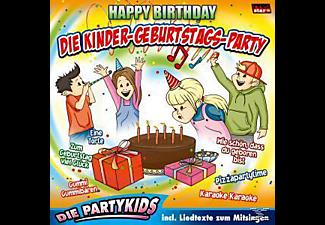 Die Partykids - Die Kinder-Geburtstags-Party/Happy Birthday  - (CD)