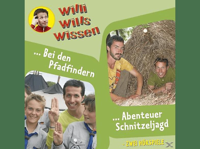 Willi wills wissen: Abenteuer Schnitzeljagd / Bei den Pfadfindern - (CD)