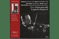 Francescatti - Sonate op.108,Partita BWV 1002,Sonata In G,Tzigan [CD]