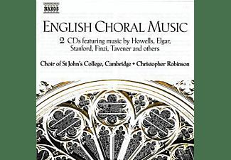 CHOIR OF ST.JOHN S COLLEGE, Christopher/Choir Of St.John's College Robinson - Englische Chormusik  - (CD)