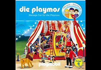 - Die Playmos 09: Manege frei für die Playmos  - (CD)