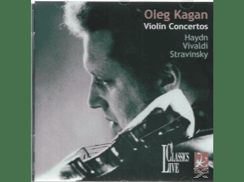 Oleg Kagan, Kagan/Svetlanov/USSR State Orchestra - Kagan Spielt Haydn/Vivaldi/Strawinksy [CD]