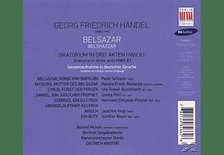 Peter Schreier, Schreier/Polster/Knothe/KOB/Berliner Singakadamie - Belshazar (GA)  - (CD)