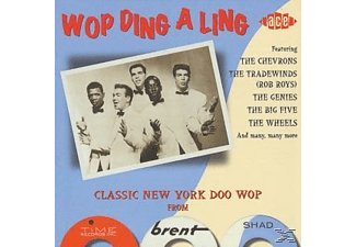 VARIOUS - Wop Ding A Ling  - (CD)