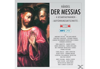 Bbc Symphony Or - Der Messias-Mp 3 Oper  - (MP3-CD)