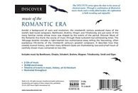 VARIOUS - Discover Music Of The Romantic Era - (CD)