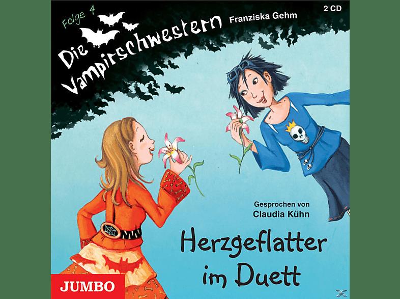 Die Vampirschwestern - Herzgeflatter im Duett - Folge 4 - (CD)