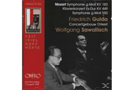 CONCERTGEB.OR - Klavierkonzert KV 449,Sinfonien KV 183 und 550 [CD]