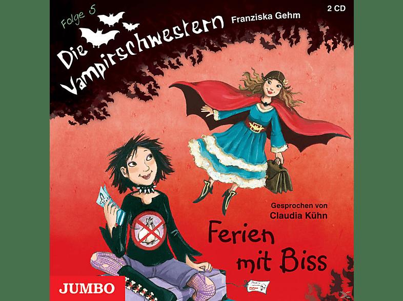 Die Vampirschwestern - Ferien mit Biss - Folge 5  - (CD)
