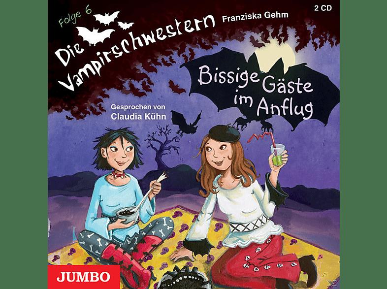 Die Vampirschwestern - Bissige Gäste im Anflug - Folge 6 - (CD)
