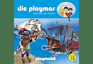 Die Playmos 16: Rückkehr der Piraten  - (CD)