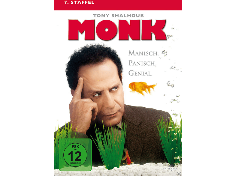 Monk - Staffel 7 [DVD]