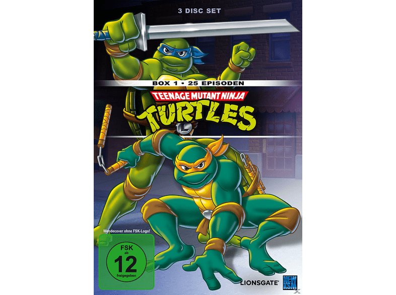 Teenage Mutant Ninja Turtles - Box 1 [DVD]