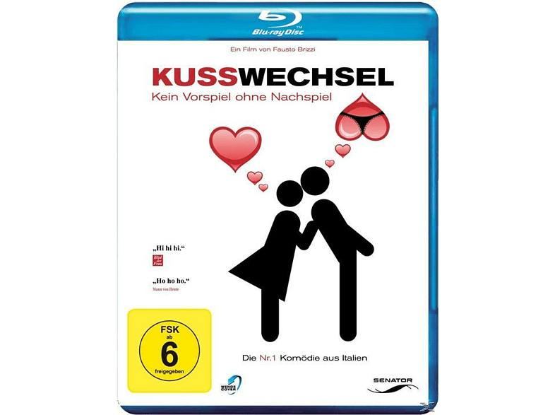 Kusswechsel - Kein Vorspiel ohne Nachspiel [Blu-ray]