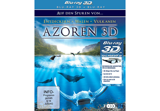 Azoren 3D - Auf den Spuren von Entdeckern, Walen und Vulkanen (3D) 3D Blu-ray
