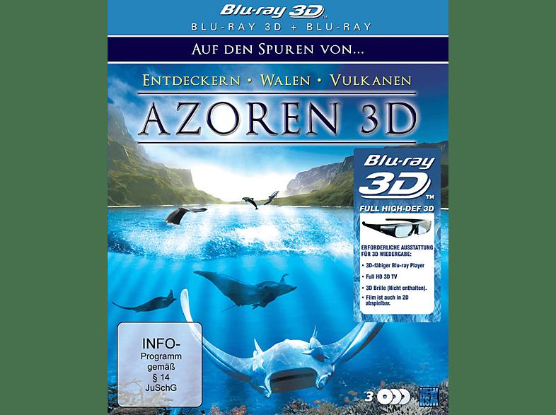Azoren 3D - Auf den Spuren von Entdeckern, Walen und Vulkanen (3D) [3D Blu-ray]