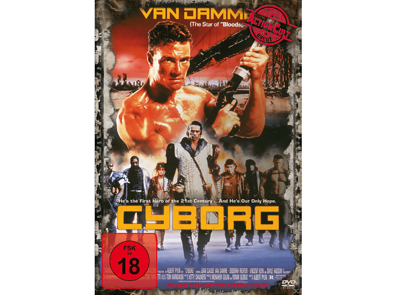 Cyborg Uncut Edition [DVD]