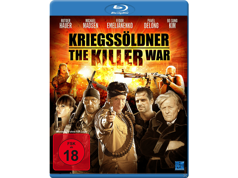 Kriegssöldner - The Killer War [Blu-ray]