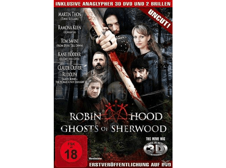 Robin Hood - Ghosts of Sherwood inkl. Anaglypher 3D-DVD und 2 Brillen [DVD]