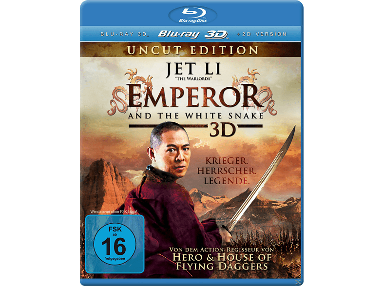 Emperor and the White Snake 3D [3D Blu-ray]