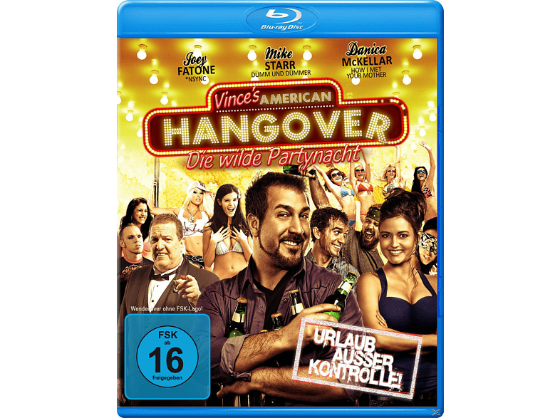 Vince's American Hangover – Die wilde Partynacht [Blu-ray]