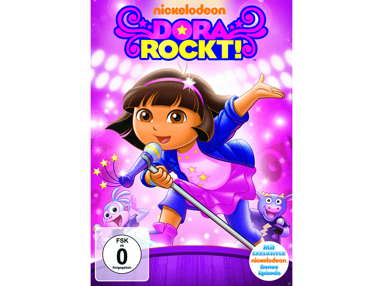 027 - DORA ROCKS [DVD]