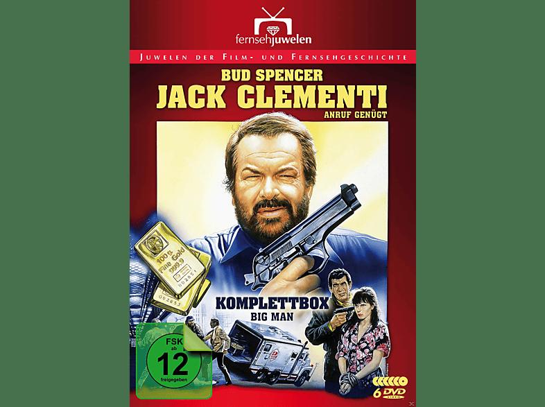 Jack Clementi, Anruf genügt | Komplettbox DVD auf DVD online kaufen | SATURN