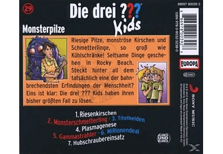 Die drei ??? Kids 29: Monsterpilze  - (CD)