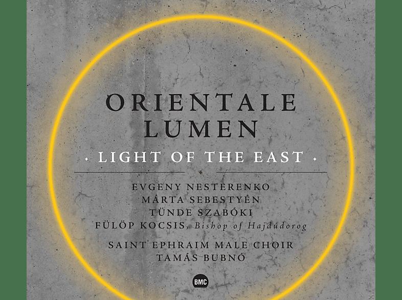Saint Ephraim Male Choir, Tünde Szabóki, Fülöp Kocsis, Evgeny Nesterenko, Márta Sebestyén - Orientale Lumen - Light Of The East [CD]
