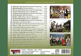 Donnersbacher Viergsang, Ausser Bradlmusi - Auf Über'n Berigschlag  - (CD)