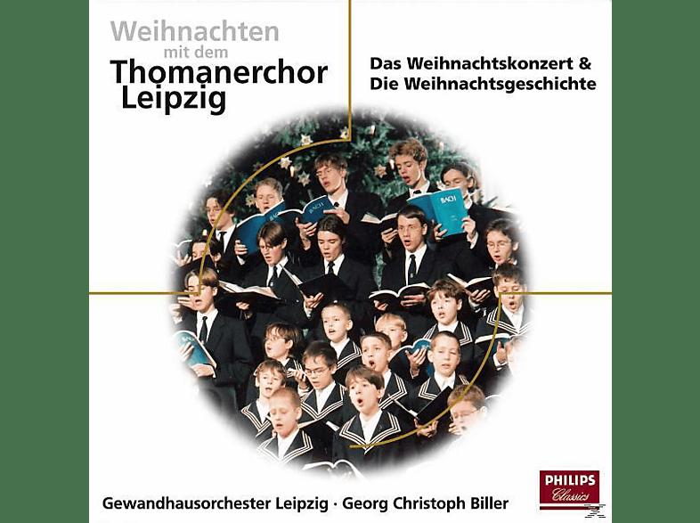Thomanerchor Leipzig, Thomanerchor Leipzig/Biller/Pregardien/GOL/+ - WEIHNACHTEN MIT DEN THOMANERN [CD]