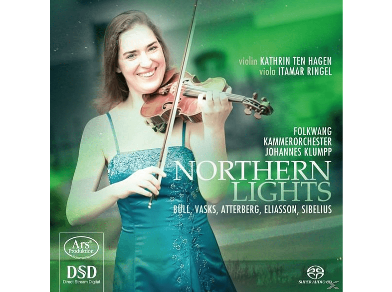 Kathrin Ten Hagen, Itamar Ringel, Folkwang Kammerorchester - Northern Lights [SACD Hybrid]