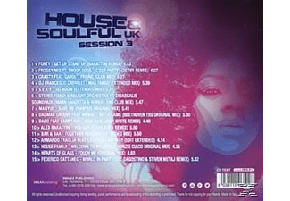VARIOUS - House & Soulful UK Session Vol.3  - (CD)
